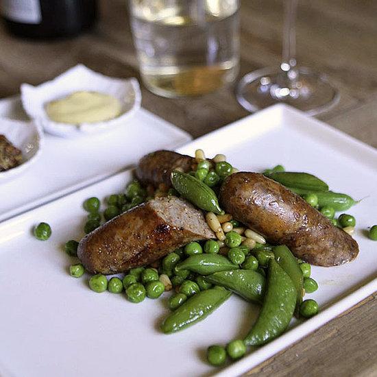Spring Peas and Sausage Recipe