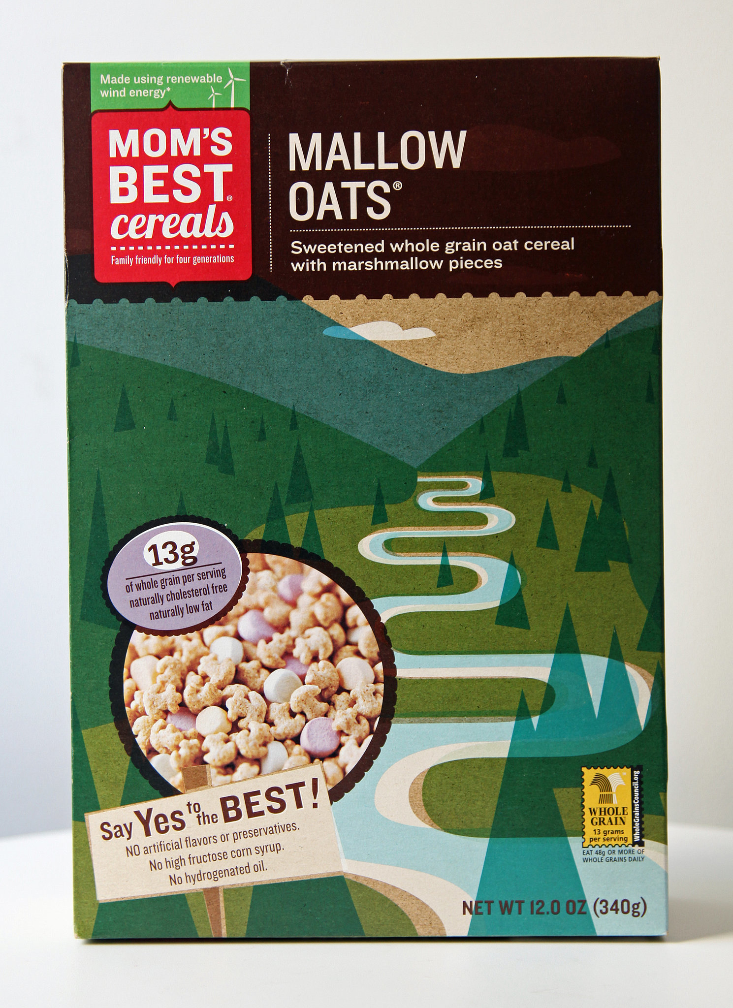 Mom's Best Cereals Mallow Oats