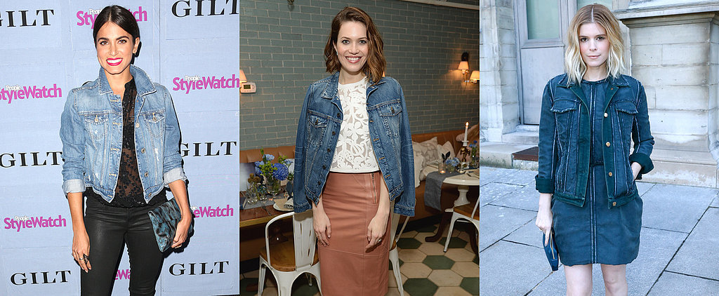Celebrity Styling Tricks to Wearing Your Denim Jacket