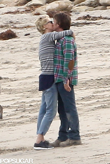 Charlize and Sean Can't Keep Their Hands Off Each Other
