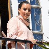 Die Kardashians im Bikini in Versace-Villa