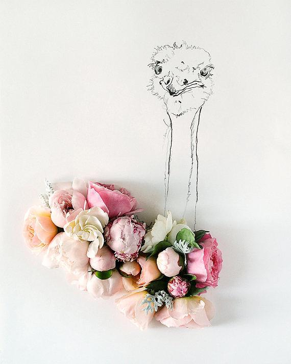 Frame Floral Art