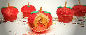 Bite Into an Apple Cupcake That's Filled With Pop Rocks