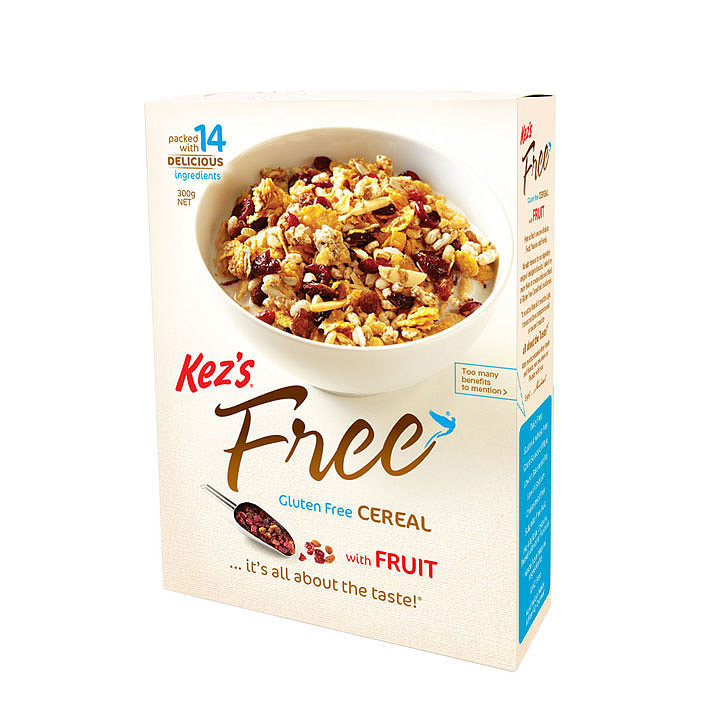 Kez's Free Gluten Free Cereal With Fruit, $6.99