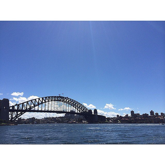 Another picture perfect day on Sydney Harbour! The old dame is looking pretty fine for an 82 year old.
