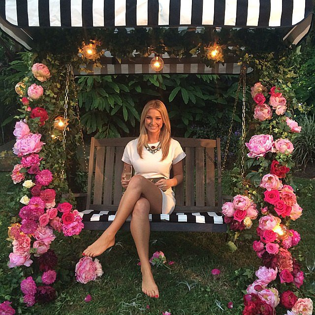The Bachelor's Anna Heinrich was vibrant and bubbly as ever at the Marie Claire event during the week.