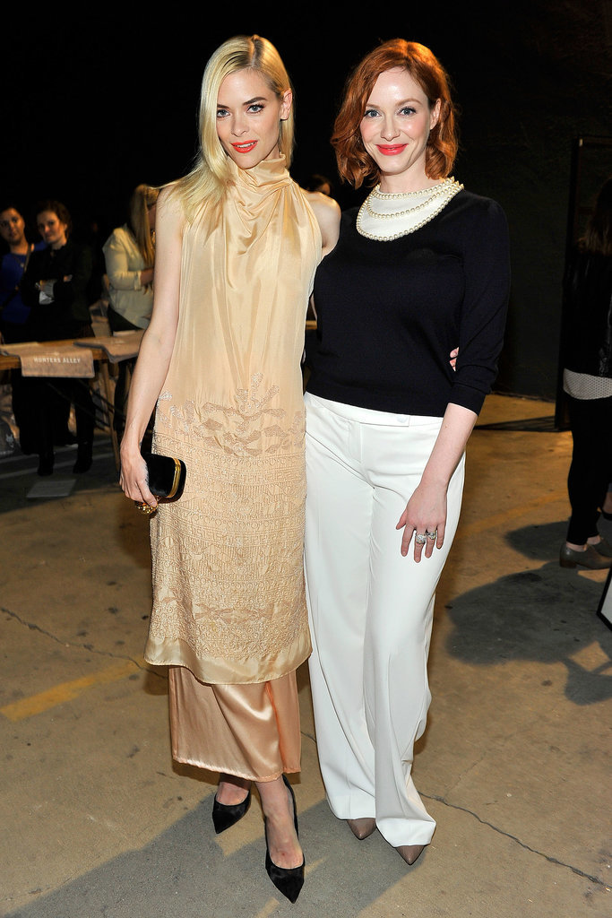 Jaime King and Christina Hendricks