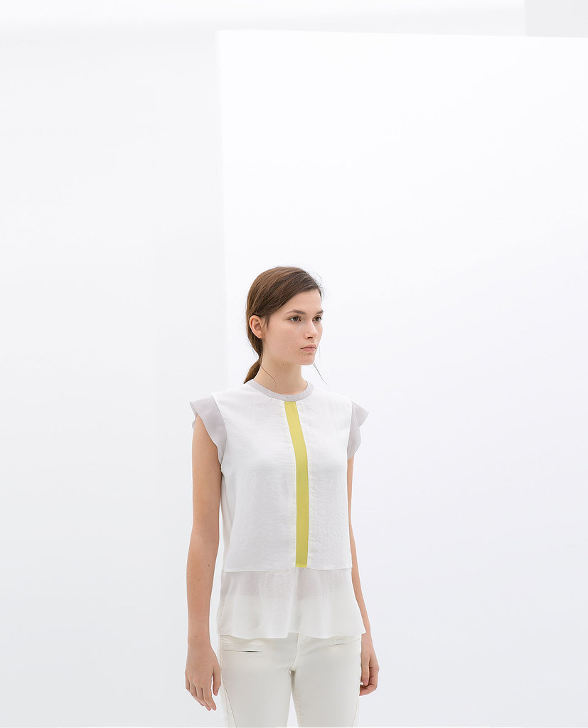 Combined Contrasting Top ($50)
