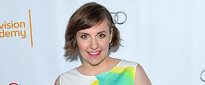 Is This Lena Dunham's Weirdest Red Carpet Choice Yet?