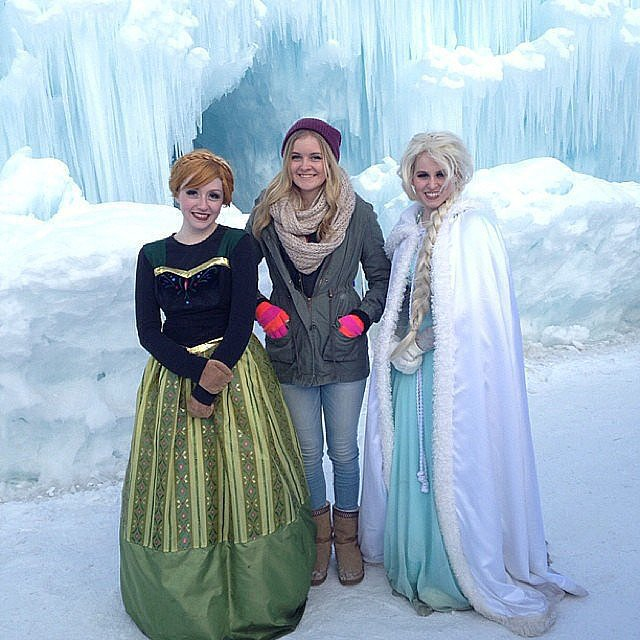 Plan a Family Trip to the Ice Castles