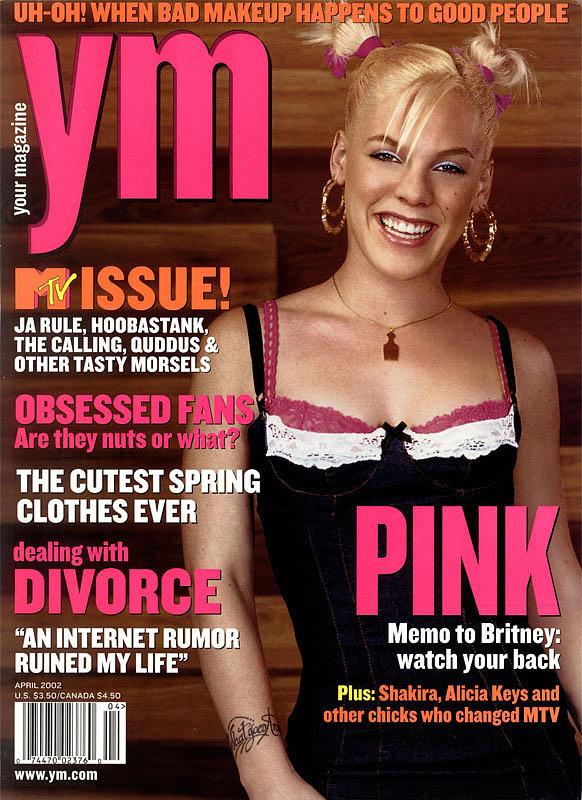 And Flipped Through YM Magazine