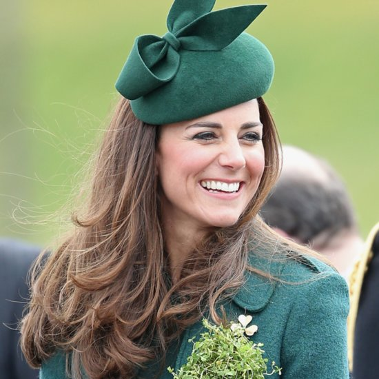 Kate Middleton Hair on St. Patrick's Day 2014