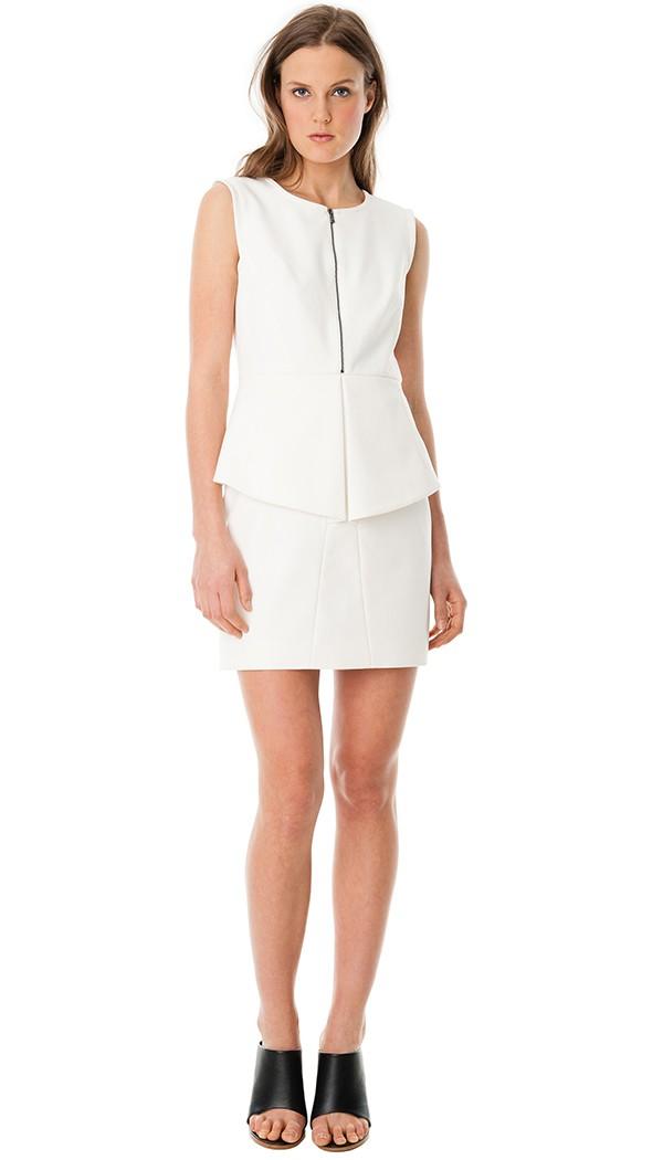 Tibi White Dress
