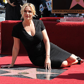 Kate Winslet Gets a Star on the Hollywood Walk of Fame