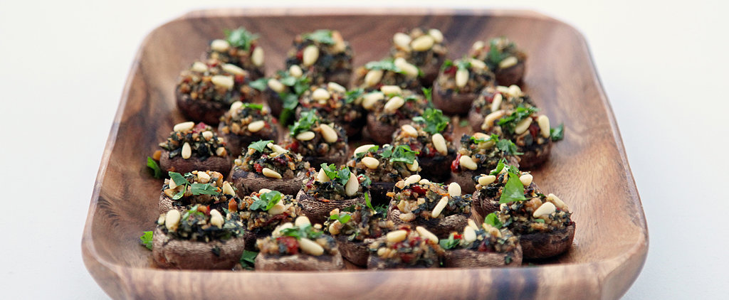 Stuffed Mushrooms, Hold the Meat