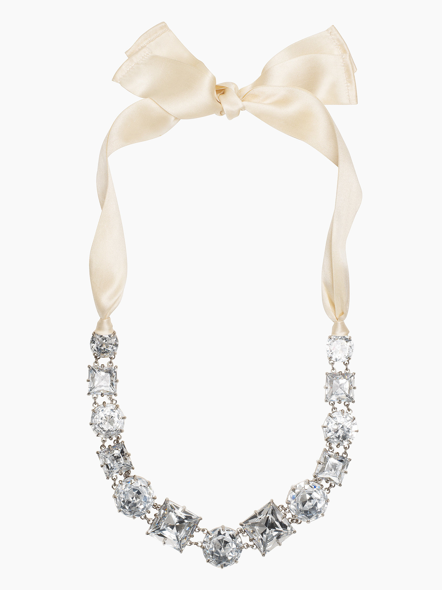 Kate Spade New York Crystal Kaleidoscope Necklace With Ribbon Tie ($129, originally $295)