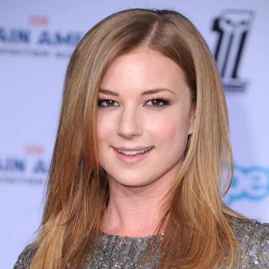 Emily VanCamp's Makeup at Captain America Premiere 2014