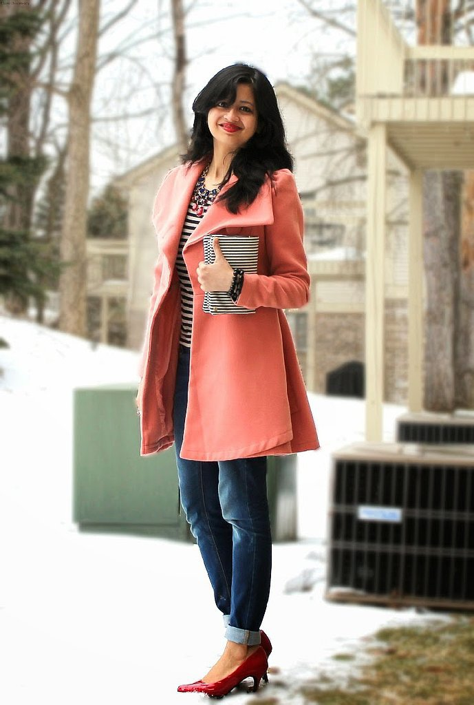 Congrats, thatsassygal! Can we stop to appreciate your coat for a second?