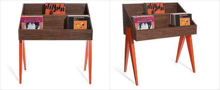 A New Record Stand That Ups Your Home's Cool Factor