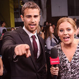 Theo James Interview at Divergent Premiere | Video