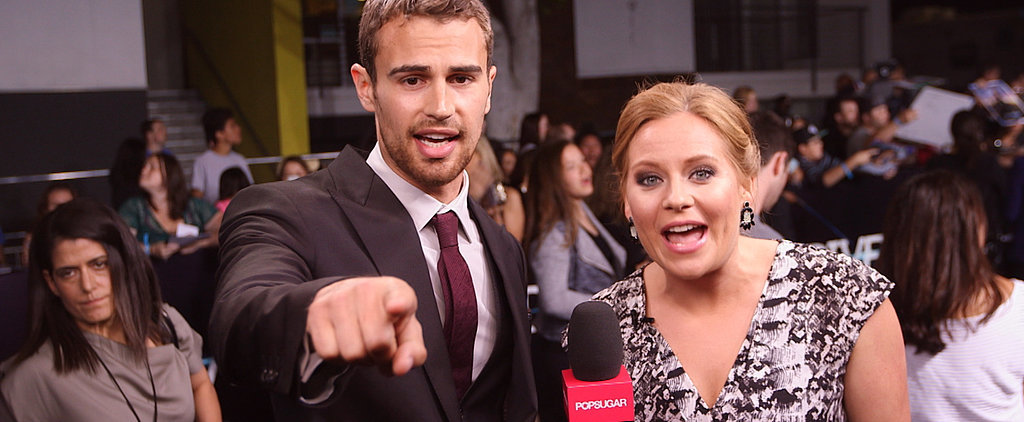 Theo James Makes the Case For Four to Become the New Edward Cullen