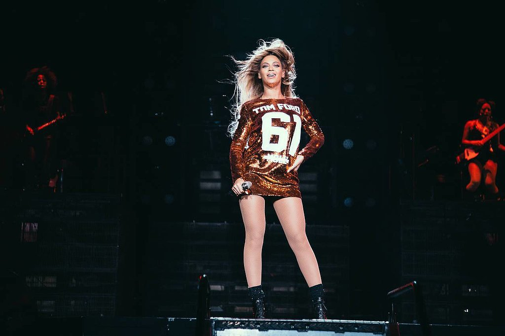 Beyoncé in Tom Ford Fall 2014