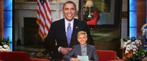 Obama Confronts Ellen DeGeneres About Breaking His Retweet Record