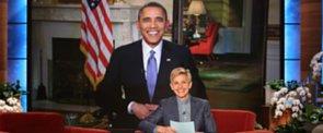 Obama Confronts Ellen DeGeneres About Breaking His Retweet Record