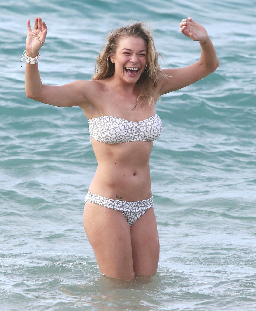 LeAnn Rimes hit the water in Hawaii in January Pic 1 of 35