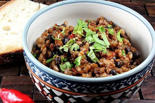 Vegetarian Cuban Rice and Beans