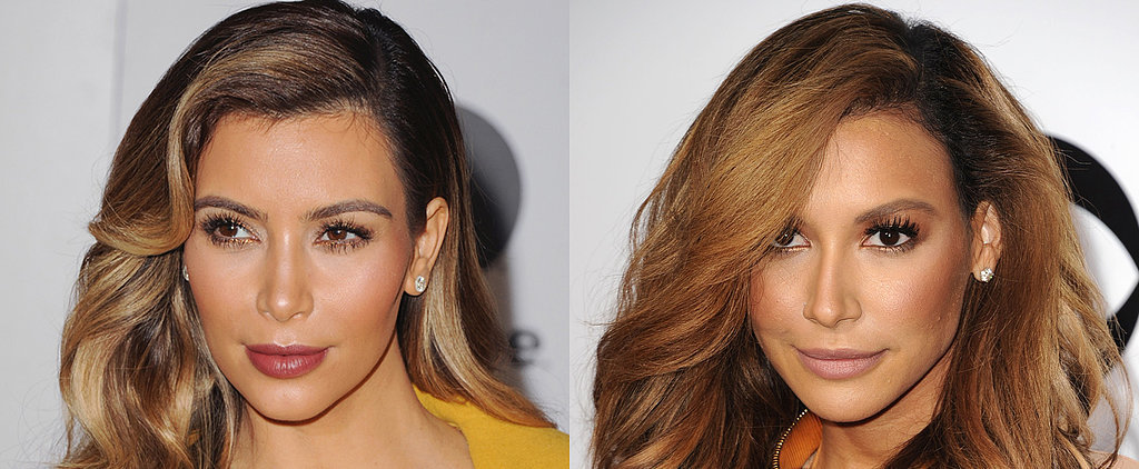 Is Naya Rivera Really Just Kim Kardashian?