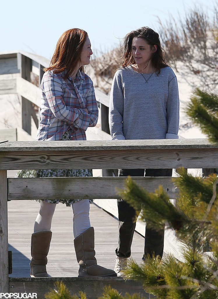 Julianne Moore Has a Way of Making Kristen Stewart Smile