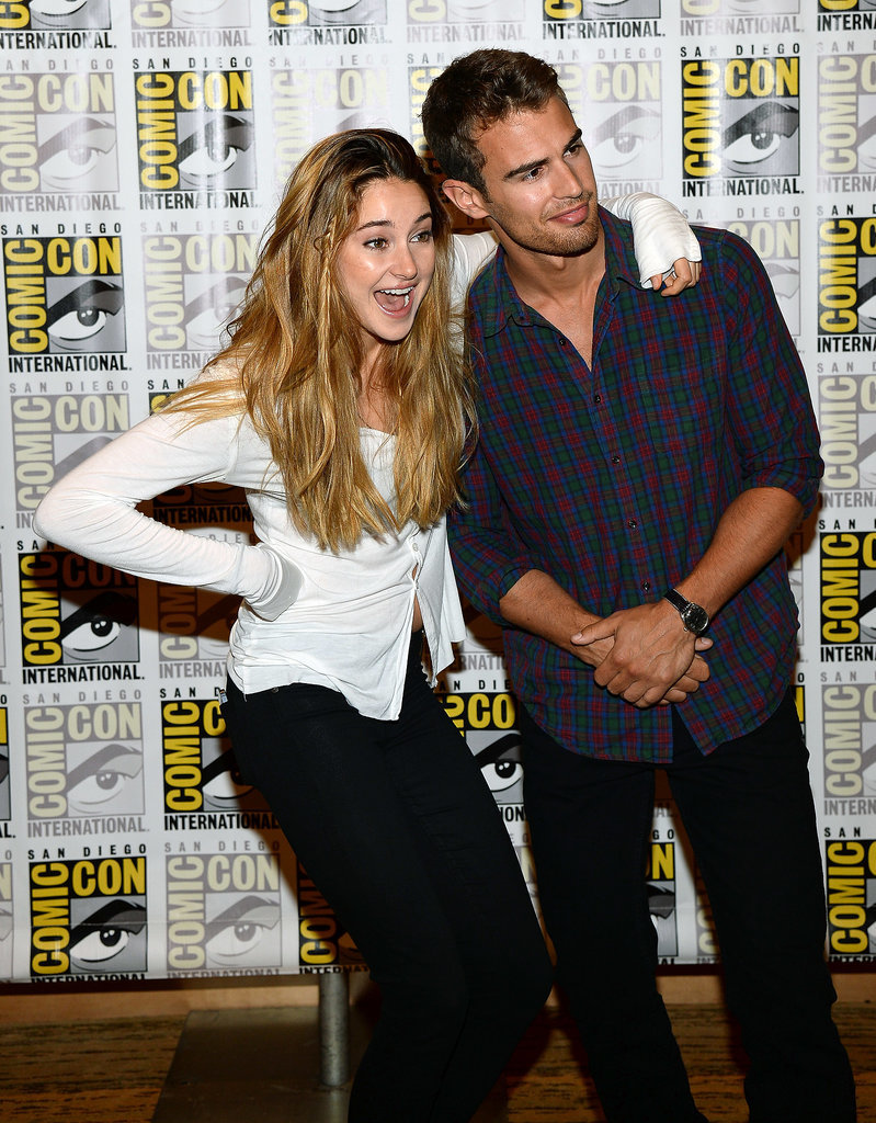 Their Comic-Con antics continued.