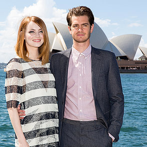 Emma Stone and Andrew Garfield in Australia