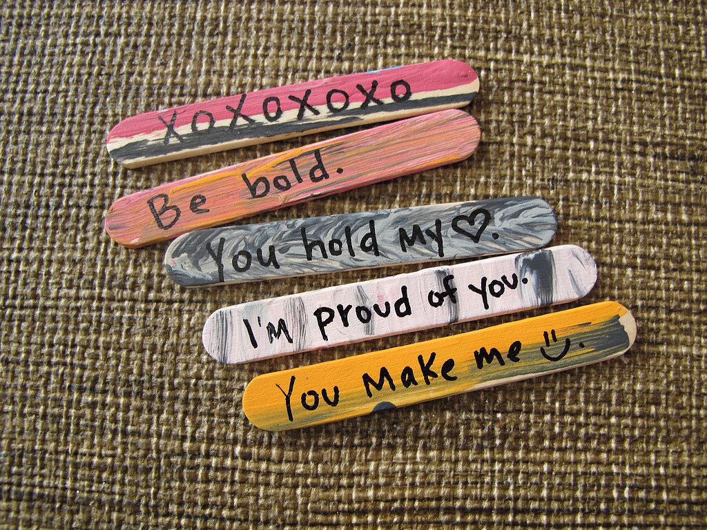 I Love You Sticks