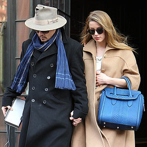 Johnny Depp and Amber Heard Wear Rings in NYC | Pictures