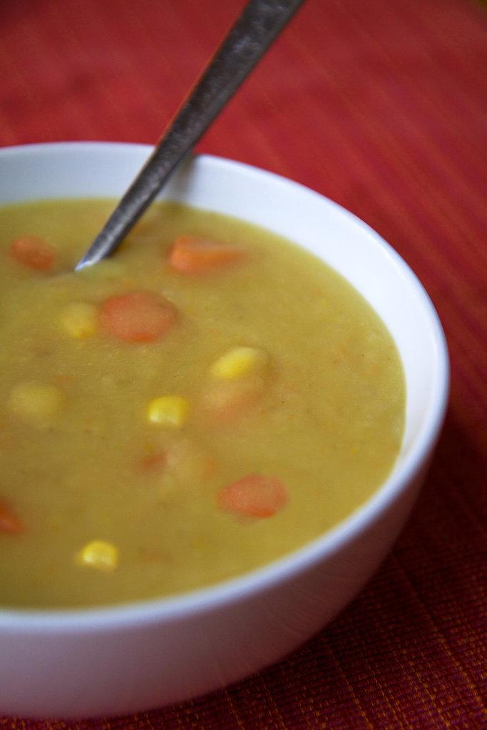 Cream-Free Potato Leek Soup