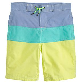 Striped Bathing Suits For Boys