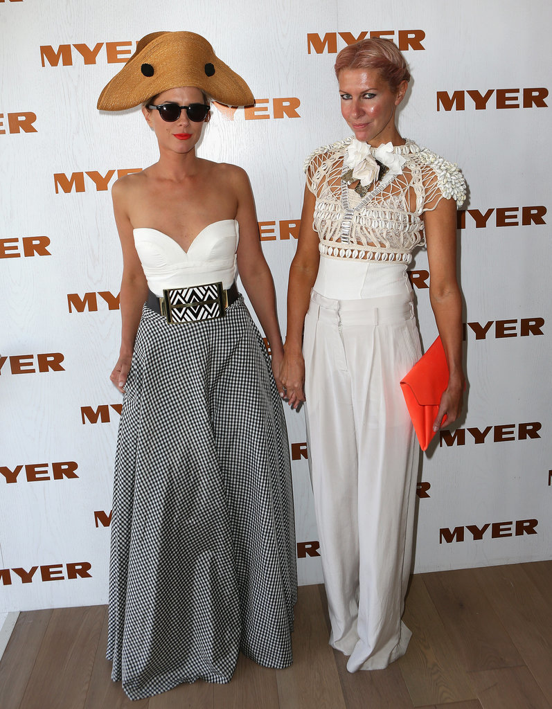 Sarah-Jane Clarke and Heidi Middleton at 2012 Derby Day
