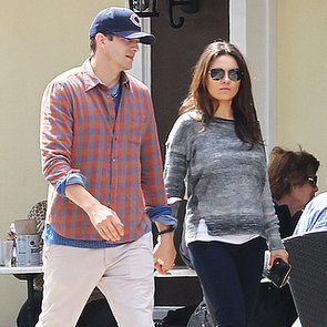 Mila Kunis Baby Bump Picture