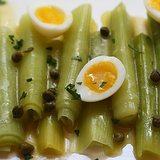 Leek and Quail Egg Salad Recipe