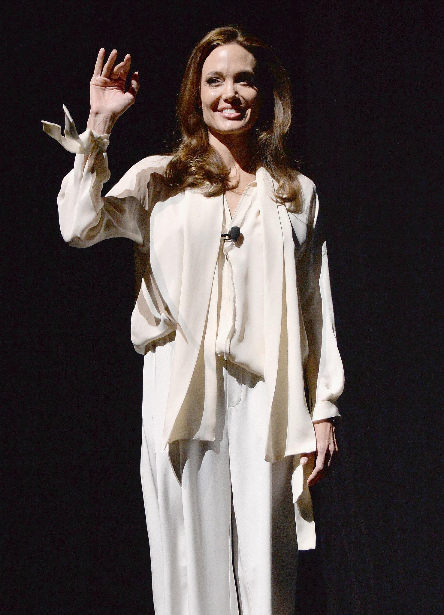 Angelina Jolie Looks Angelic in Sin City