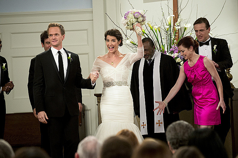 Introducing Mr. and Mrs. Barney Stinson!