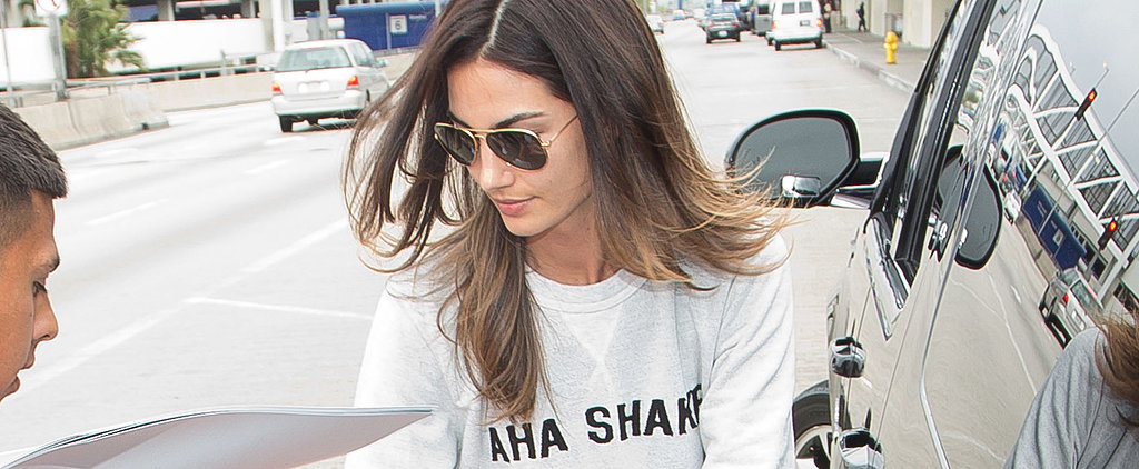 What Do You Think of Lily Aldridge's Off-Duty Outfit?