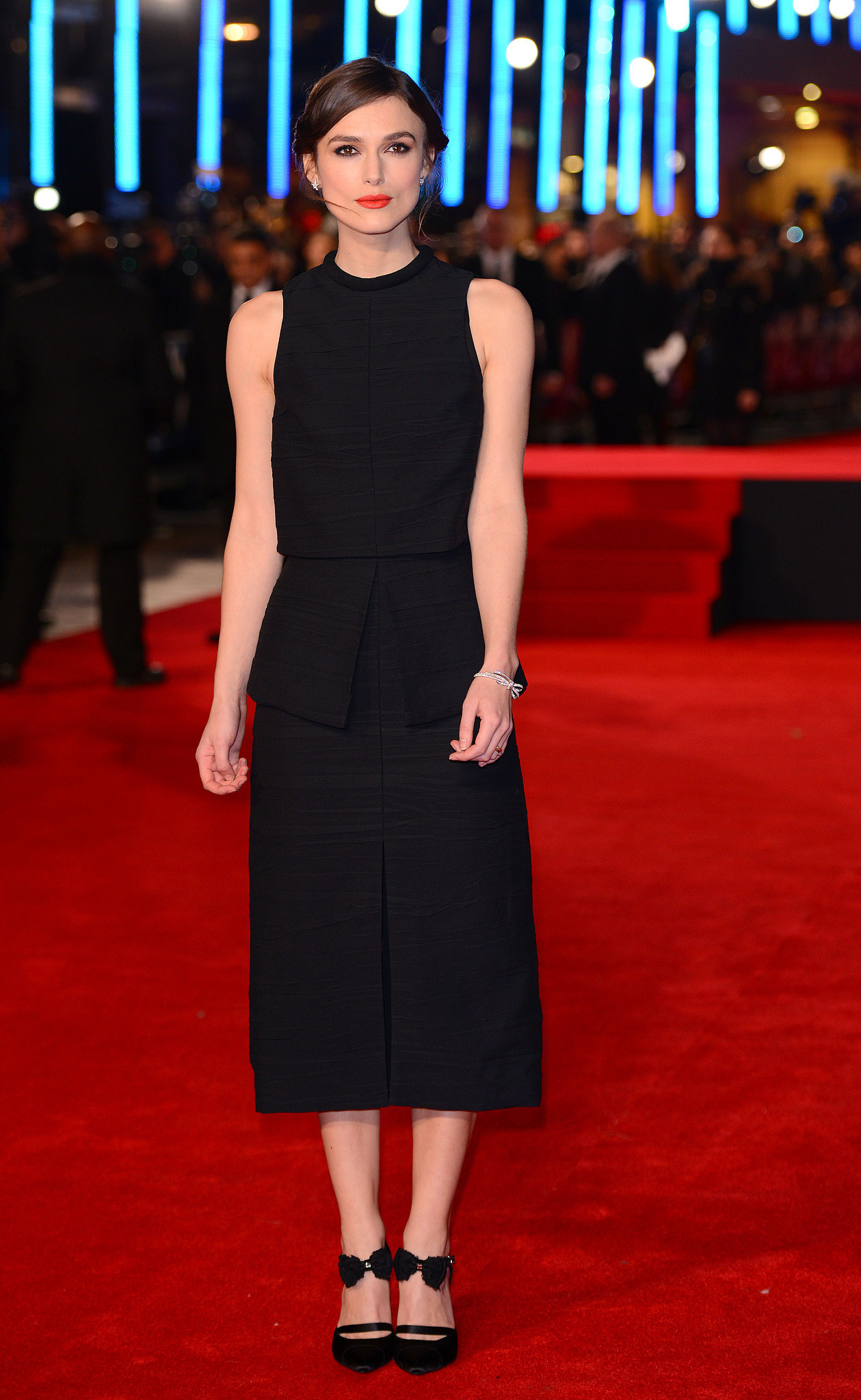 Keira Knightley at the Jack Ryan: Shadow Recruit UK Premiere