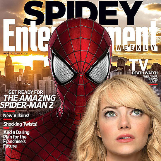 The Amazing Spider-Man 2 Entertainment Weekly Cover