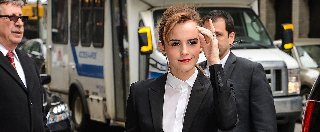 Did Emma Watson Pull Off This Pantsuit?