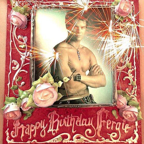Fergie Celebrates Her Birthday With Josh Duhamel and Axl