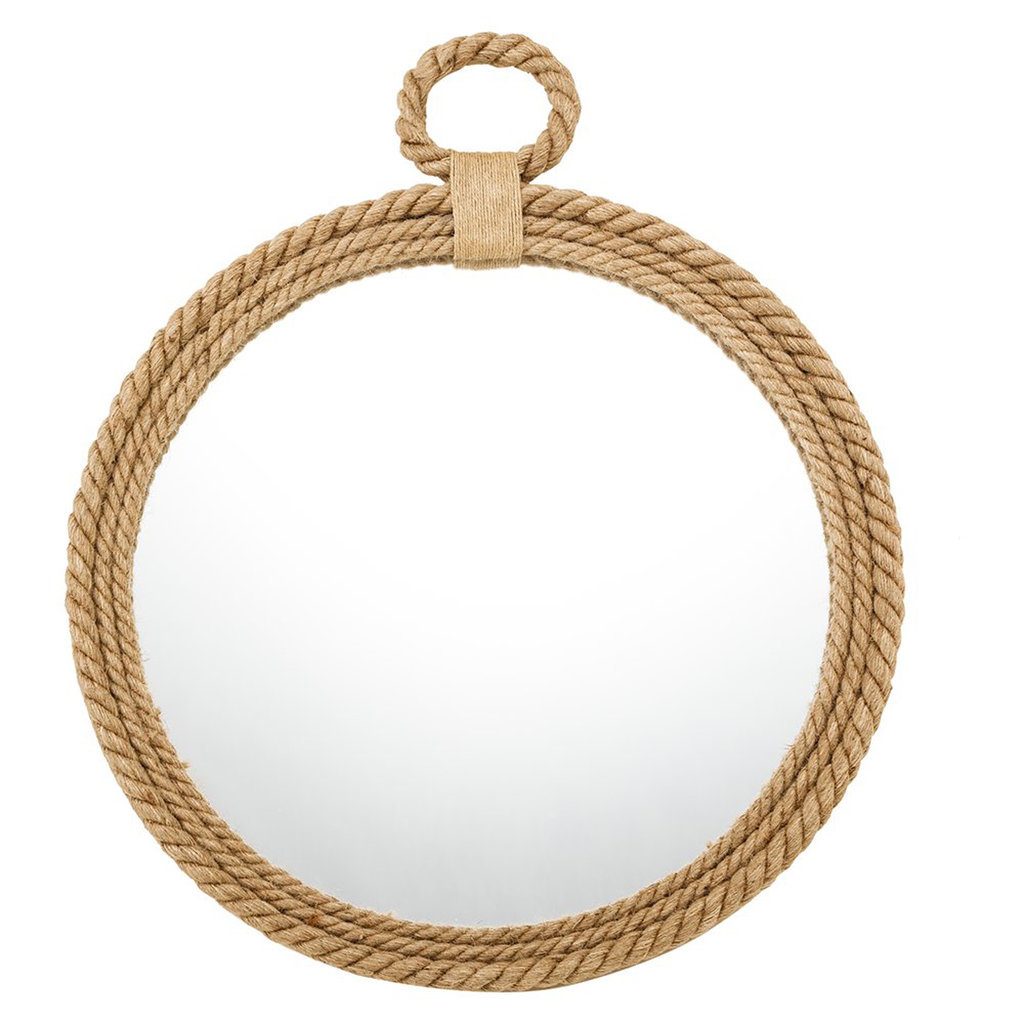 We can't get over the unbeatable price of this rope mirror ($40)!
