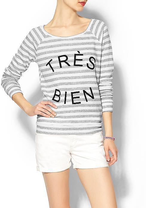 Pim + Larkin Très Bien Sweatshirt ($49)